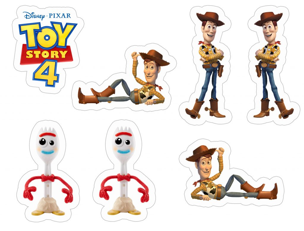 sheriff-woody-and-forky-toy-story-4-sticker-template-1024x779 Sheriff Woody and Forky Toy Story 4 free and printable sticker template. Sticker Themes