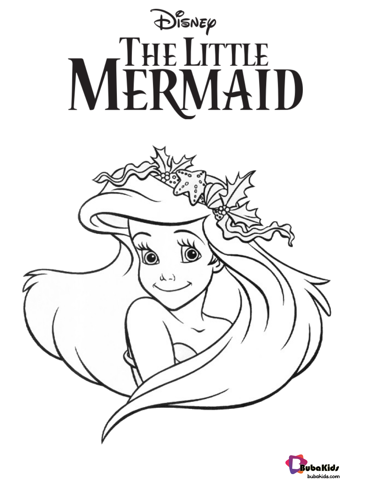 Free download Ariel The Little Mermaid coloring pages ...