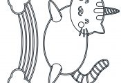 Cute Unicorn Cat Coloring Page Bubakids