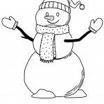 Hey Kids Let's Coloring This Snowman.! Hohohoho