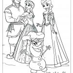 Princess Disney Frozen 2 Coloring Page