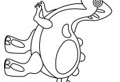 Spinosaurus Preschool Kids Dinosaurs Coloring Page