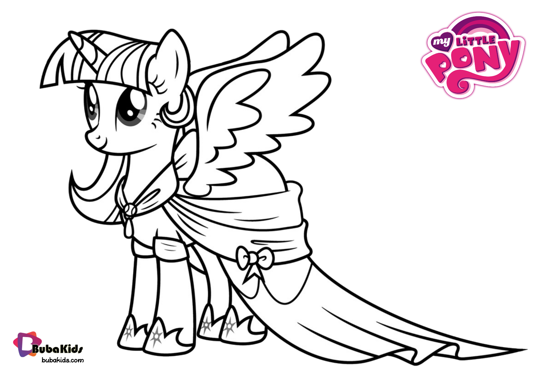 My little pony coloring pages Princess Luna. Wallpaper