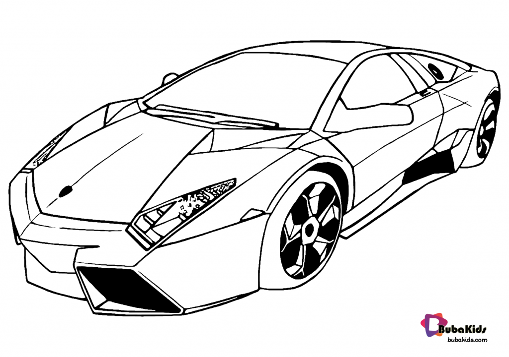super-car-coloring-page-for-kids-1024x720 Free download and printable super car coloring page Cartoon