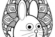 Cuties Easter Egg Coloring Page Bubakids