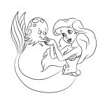 coloring pages of disney princess ariel