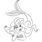 free princess ariel coloring pages to print