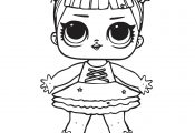 LOL Princess Doll Coloring Page