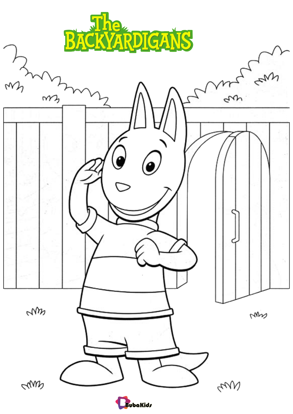 The Backyardigans TV series coloring pages Wallpaper