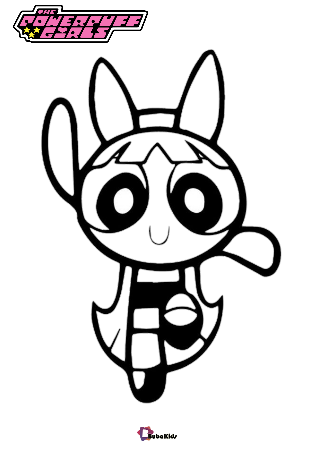Blossom The Powerpuff girls coloring pages Wallpaper